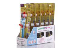 CleverstiX - Training ChopstiX for kids. Science Museum branded. Design by Alpha Design & Marketing Ltd.