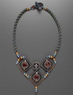 Trois Diamants Necklace Pattern