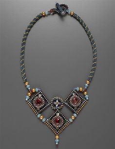 Trois Diamants Necklace Pattern