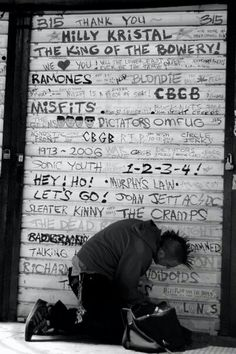 The great CBGB IN NYC many played or just created mayhem