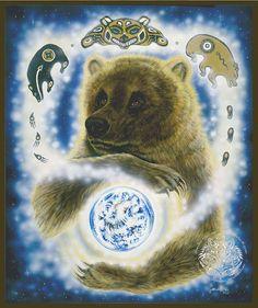 Brown Bear Earthkeeper Print