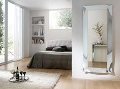 Zrcadlo Meridiana SILVER s LED 169x68 Light And Shadow, Oversized Mirror, Led, Mirrors, Simple, Glass, Room, Furniture, Decorating