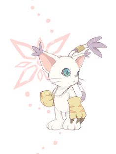 """pichiinyan: """" best digimon ever. it was a cat after all. """""""