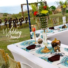 Rustic Moroccan Themed Wedding Set-Up by Wedding Dreams by Renaissance. Find them on #ESN at http://caribbean.event-suppliers-network.com/vendors/barbados/newton/event-decor-design/renaissance-designs-inc/