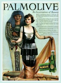 . Vintage Advert for Palmolive (Ancient Egypt) - MPC March 1920 | by CharmaineZoe's Marvelous