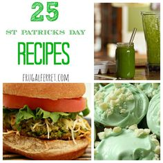 St. Patrick's Day Recipes - List of 25!
