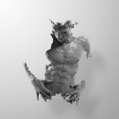 Julián Cánovas-Yañez Sculpts Himself To Life Through The Lens Of Alejandro Maestre | http://www.yatzer.com/portrait-julian-alejandro-maestre