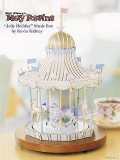 "Mary Poppins ""Jolly Holiday"" Music Box | Kevin Kidney and Jody Daily"