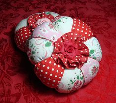 My Latest Pincushions by She'sSewPretty, via Flickr