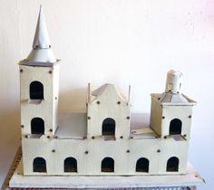 castle birdhouse by yarddog.com