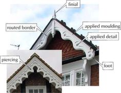 Roof Gables and Bargeboards - Bricks & Brass