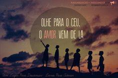 O amor vem do céu