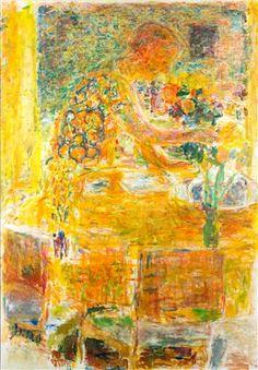 Artist: Rafael Wardi (Finnish, born 1928) Title: Interior Medium: oil painting Size: 132 x 94 cm. (52 x 37 in.)