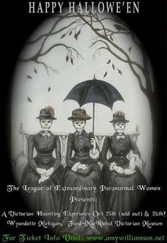 skeletons  League of Extraordinary Paranormal Women event. #halloween #diadelosmuertos #ladyskeletons