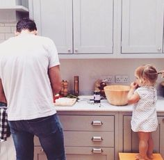 Daddy and daughter ♡ - Vater Family Goals, Family Love, Baby Family, Family Kids, Family Bonding, Young Family, Cute Kids, Cute Babies, Styles Harry