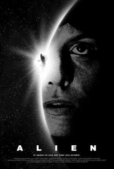 Alien poster by ~drMIERZWIAK