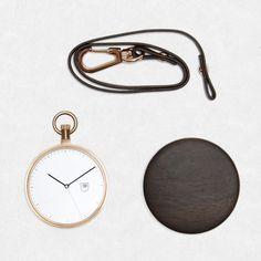 MMT Calendar by MMT - walnut rose gold pocket watch Luxusné Hodinky bbfd565a3fb
