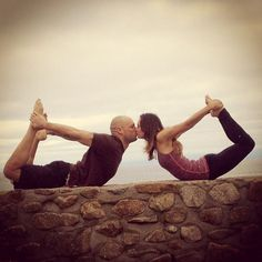 Couples Yoga Inspiration ❤ Amazing Loved and pinned by www.downdogboutique.com #Yoga