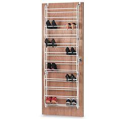Website With Photo Gallery  Pair Over the Door Shoe Rack