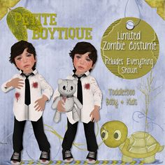 {Petite Boytique} Limited Zombie Costume | Flickr - Photo Sharing!