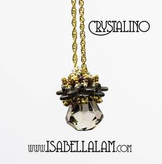 CRYSTALINO Swarovski  6022 XIRIUS Raindrop pendant Tutorial  instructions for personal use only by bead4me on Etsy https://www.etsy.com/listing/204481379/crystalino-swarovski-6022-xirius