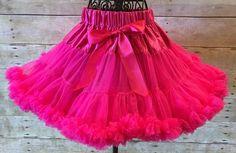 Hot Pink Pettiskirt/Princess Aurora