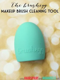 Brushegg Makeup Brush Deep Cleansing Tool! Not wanting to spend $$ on an oven mitt from Sigma? This if for YOU! $8 & works amazing! #makeup #beautytips