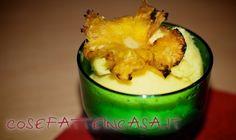 Fiori di ananas per guarnire - ricetta