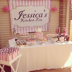 My Kitchen Tea/ Bridal Shower candy buffet