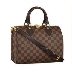 Louis Vuitton Speedy 25 With Shoulder Strap N41181