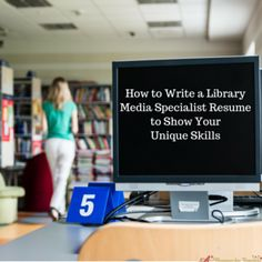 39 Best Library Media Specialist Resume And Job Search Tips Images