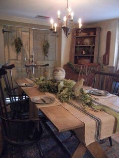 Country Decor, French Country Decor, Rustic Decor   What Is Your Style?  Find This Pin And More On Primitive Dining Room ...