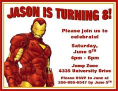 IronManBirthdayPartyInvitationDigitalbyFunPartyPrints999