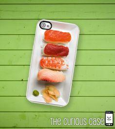 iPhone 4 4S Hard Case Nigiri Sushi Phone