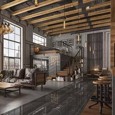 Here Are 40 Of Our Best Picks For Most Beautiful Loft Living Spaces! Read  What Is A Loft Apartment And Loft Style. Get Ideas For Your Loft Homes. Part 83