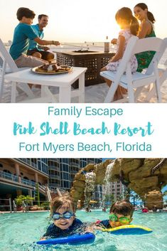 Looking for a great family-friendly resort for summer vacation? Here are 6 reasons why Pink Shell Beach Resort & Marina in Fort Myers Beach, Florida is a great choice for a family escape! #familytravel #familyvacation #Florida #VisitFlorida #FortMyers #FortMyersBeach #BeachVacation