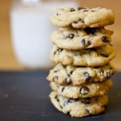 The best chocolate chip cookie recipe I've ever tried!  The special ingredient is corn starch and makes these unbelievably chewy and yummy.