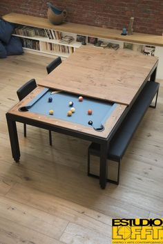 Diy conference ping pong table we built out of for Pool table design your own