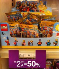 ToyzMag.com » Promo Lego Simpsons chez Monoprix