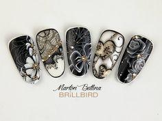 #blacknailart #nailart
