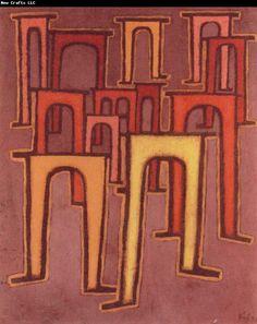 Paul Klee Revolution des Viadukts