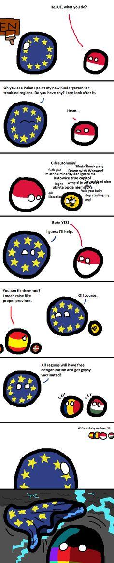 Masterplan ( Poland, Europe, Germany ) by jPaolo – WorldBall Germany Poland, History Memes, Comic Panels, Haha Funny, Hilarious, Country Art, Fun Comics, Stuff To Do, Cool Stuff