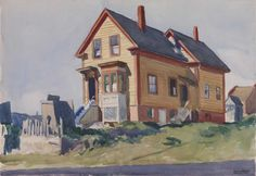 House in Italian Quarter by Edward Hopper / American Art