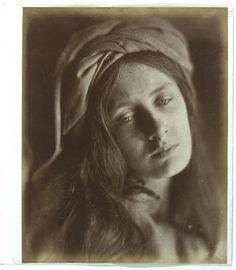 """""""Beatrice"""", Julia Margaret Cameron, 1866"""