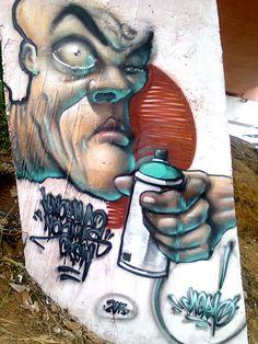 Graffiti - CHORAO in  https://www.facebook.com/chorao.in