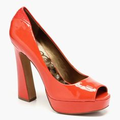 Tacoma Platform Shoes in Flamingo