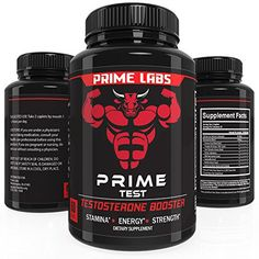 Product review for Prime Labs Men's Testosterone Supplement (60 Caplets) - Natural Stamina, Endurance and Strength Booster - Fortifies Metabolism and Sexual Libido - Promotes Healthy Weight Loss and Fat Burning -  Reviews of Prime Labs Men's Testosterone