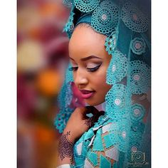 Elegant northern bride. Photography by @stevereinz; #photography #bride #henna #naijaweddings #northernbride