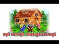 Os Três Porquinhos em Português - História Infantil Completa