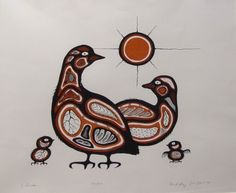 carl ray art | 35: INUIT LITHOGRAPH, CARL RAY : Lot 35
